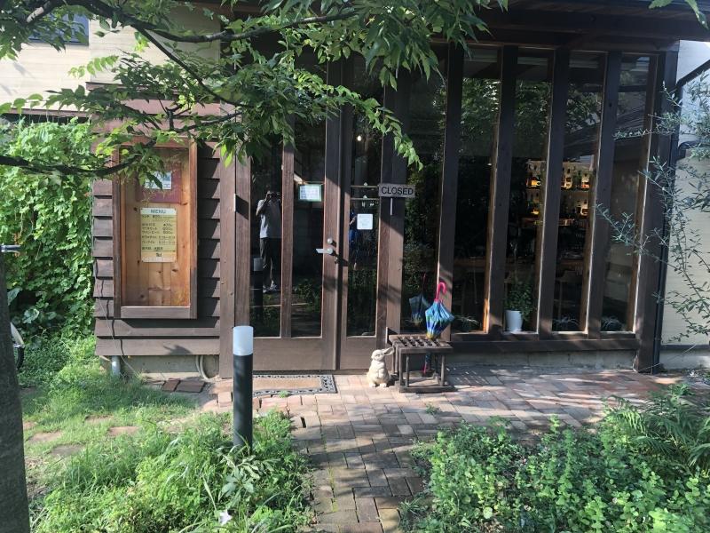 """分倍河原駅の近くでランチにオススメの静かな雰囲気のカフェ""""森のカフェ"""""""